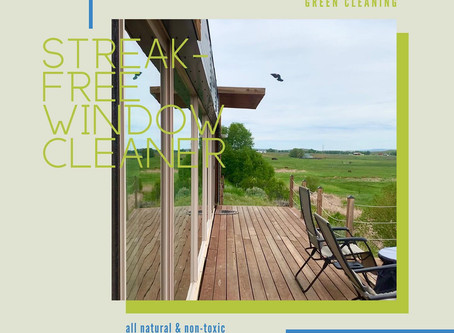 Streak-Free Window Cleaner