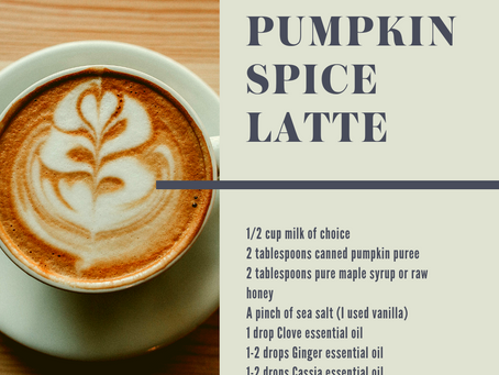 Pumpkin Spice Lattes are not just for the fall!!!