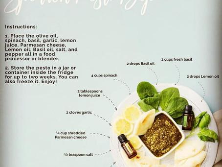 Spinach Pesto Dip