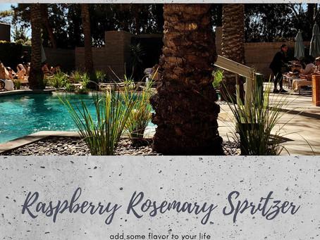 Raspberry Rosemary Spritzer