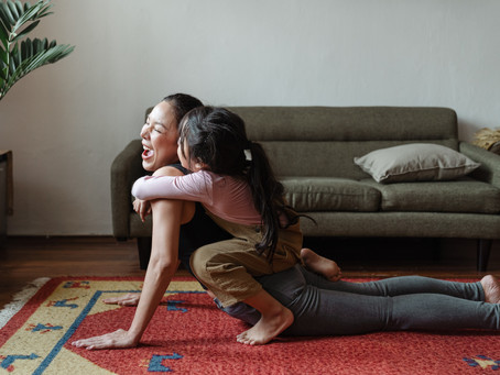 How to Find Time to Exercise with Kids in the House!