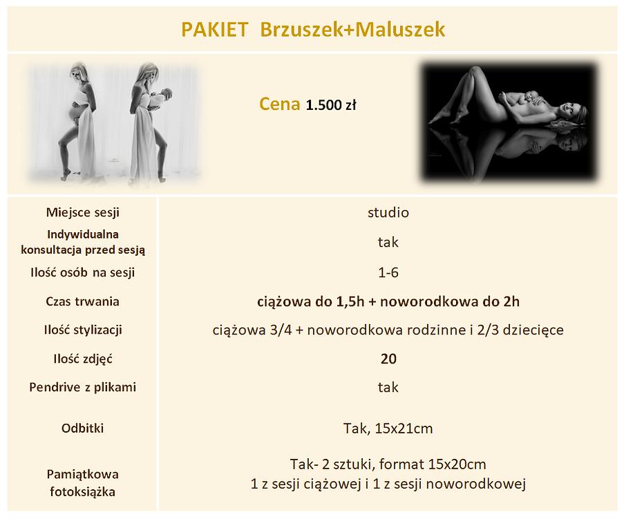 Sesja noworodkowa i ciążowa Szczecin