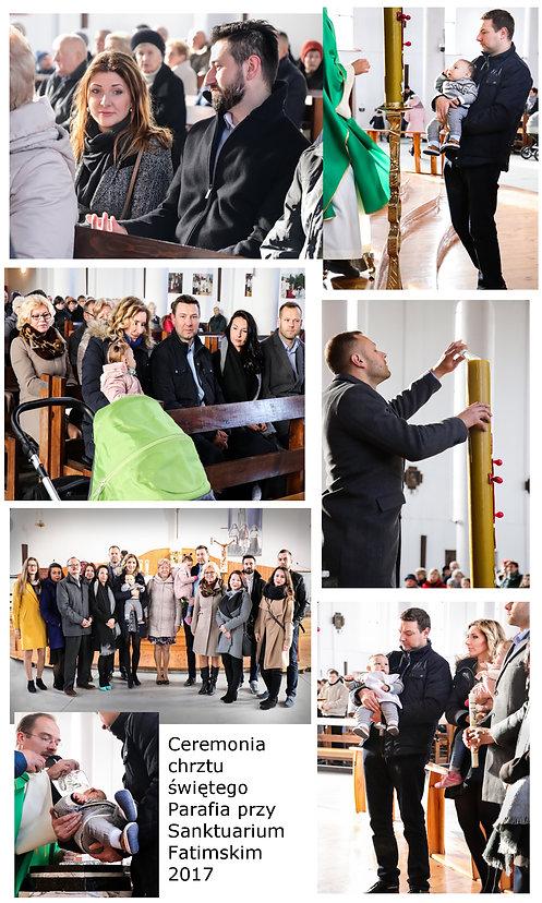 Chrzest Święty fotograf Szczecin