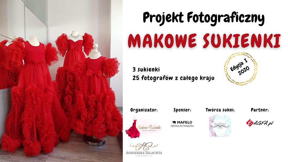 Projekt fotograficzny Makowe Sukienki
