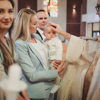 Chrzest święty sesja fotorelacja Szczecin fotograf