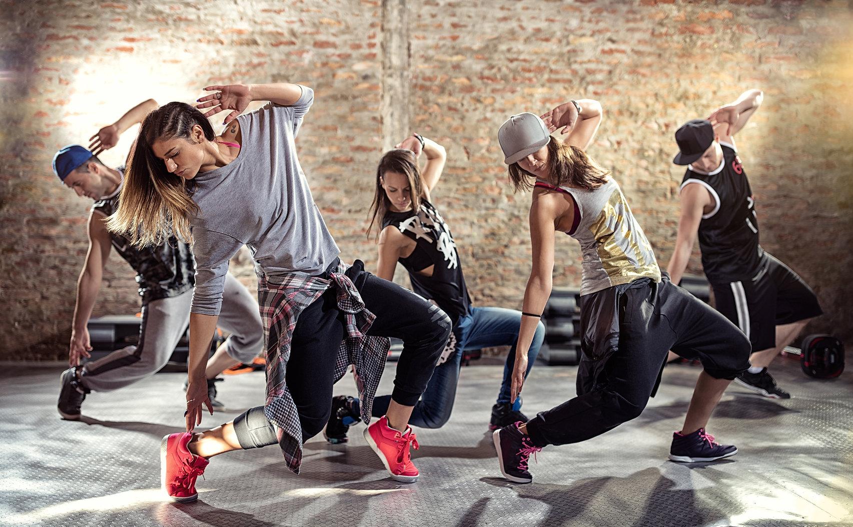 Break Dance Besatzung