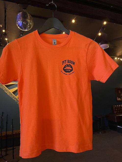 "Neon Orange ""Youth""  Ivy Room T-shirt"