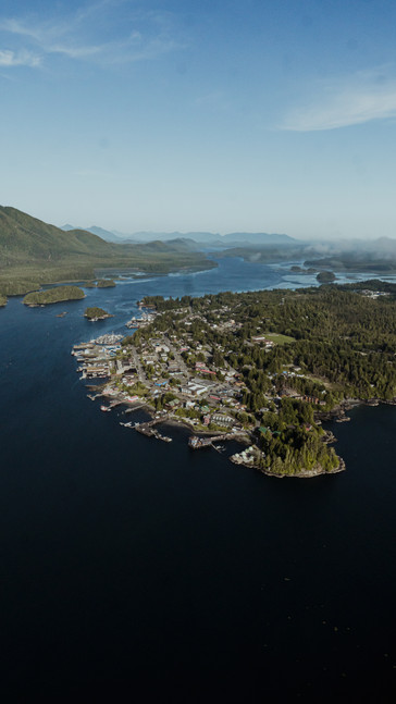 Tofino From Above