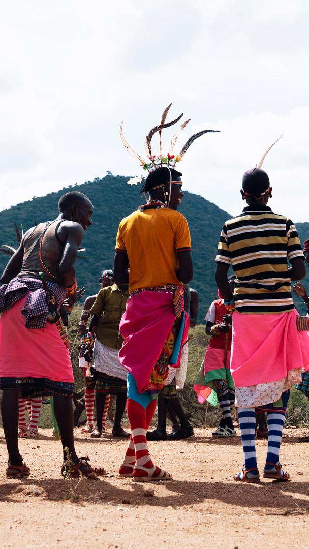 Warrior's Ceremony, Kenya