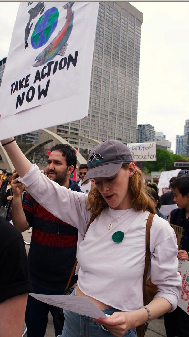 Climate Protests, Toronto, Canada