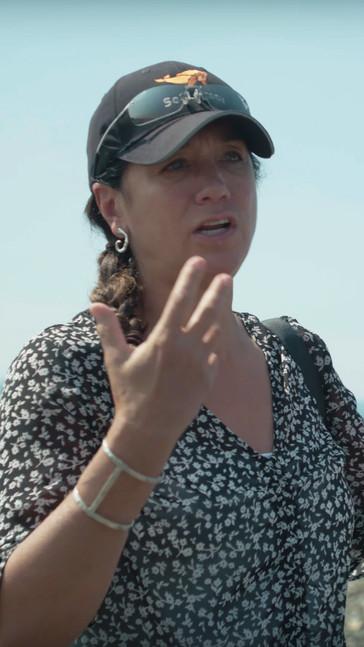 With Cristina Mittermeier, Qualicum Beach