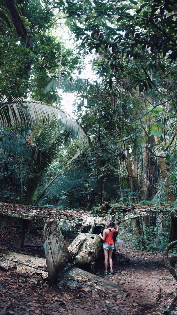 Exploring, Belize