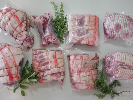 Lamb cuts and recipes