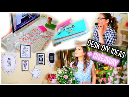 DIY Desk Makeovers For Your Daughters by Bethana Mota