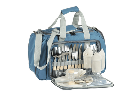 """Термо сумка Norfin """"Vardo"""" с набором для пикника на 4 персоны"""