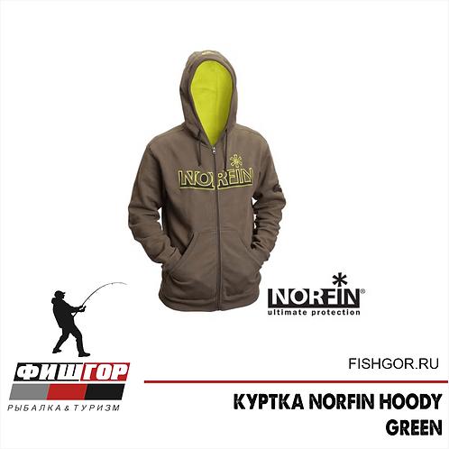 KУРТКА NORFIN HOODY GREEN