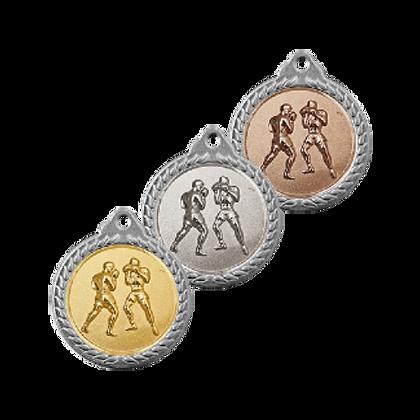 Медаль рельефная бокс