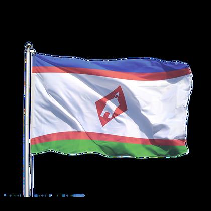 Флаг города Якутска