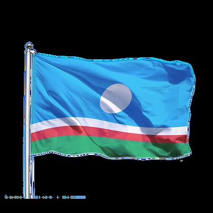 Флаг Республики Саха (Якутии)
