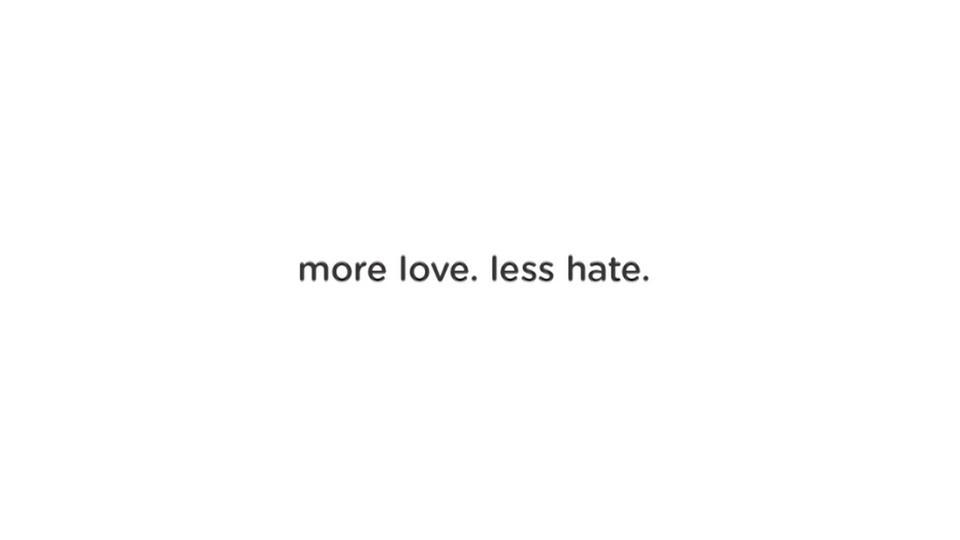 """Love.Hate""-Google Spec. Spot"