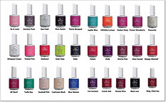 IBd gel polish nails