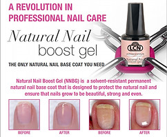 natural nail boost manicure
