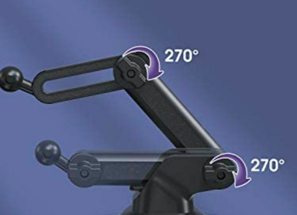 Multi angle suction desk arm and sleeve