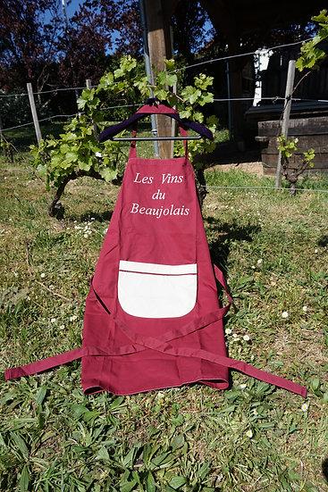 """Tablier """" Les Vins du Beaujolais """""""
