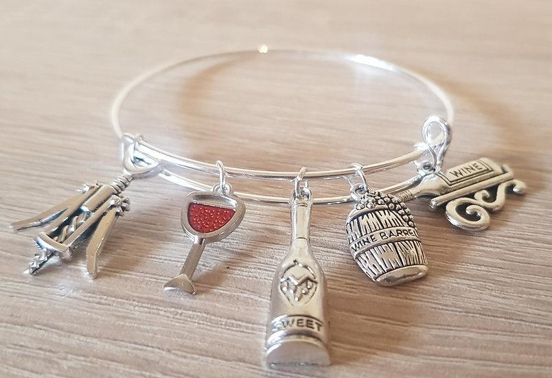 """Bracelet """"Autour du Vin """""""