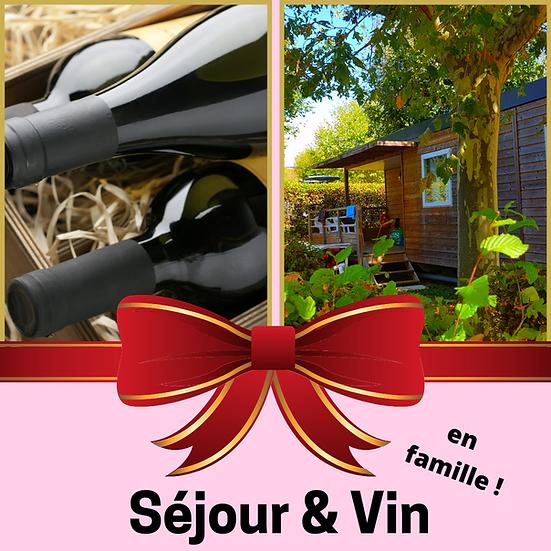 Le Bon Cadeau : Carton panaché (6 bouteilles) et Séjour en Famille