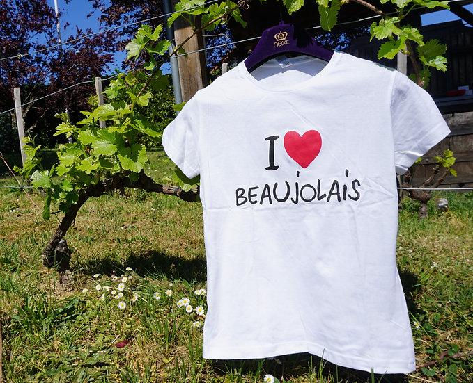 T-Shirt I Love Beaujolais