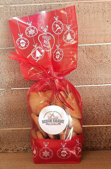 Les Sablés de NOEL de la Biscuiterie Beaujolais