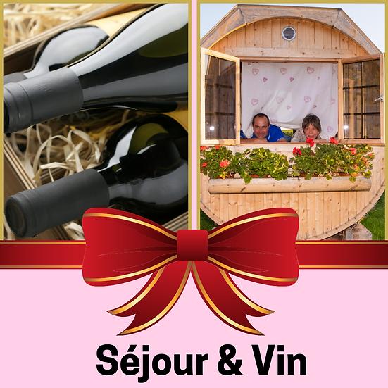 Le Bon Cadeau : Coffret 3 bouteilles et séjour en Duo dans le Beaujolais
