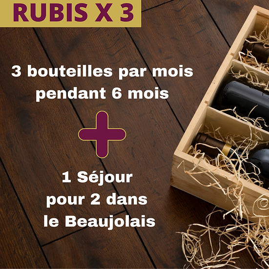 Beaujo'Box Rubis x 3