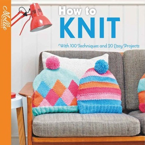 Book - Learn to Knit with Mollie Makes