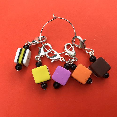 Polymer Clay Stitch Markers (handmade)