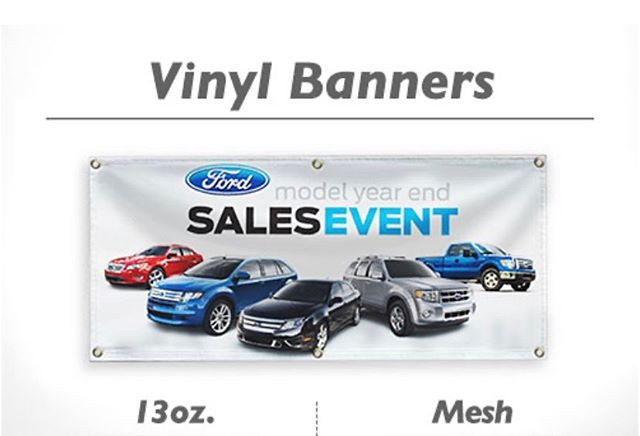 Vinyl Banner  We provide temporary signa