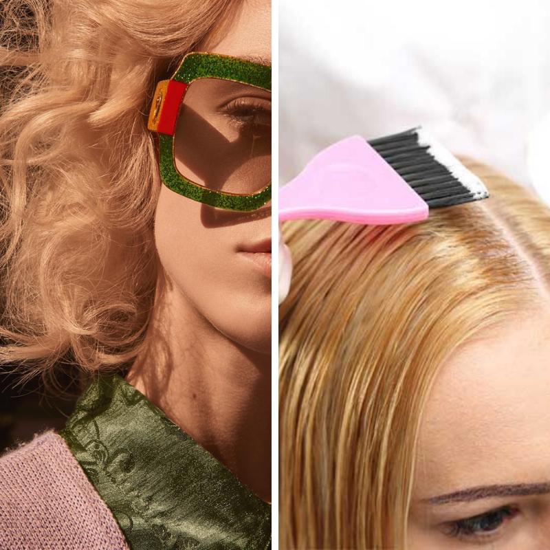 Coupe + couleur cheveux courts/mi-long