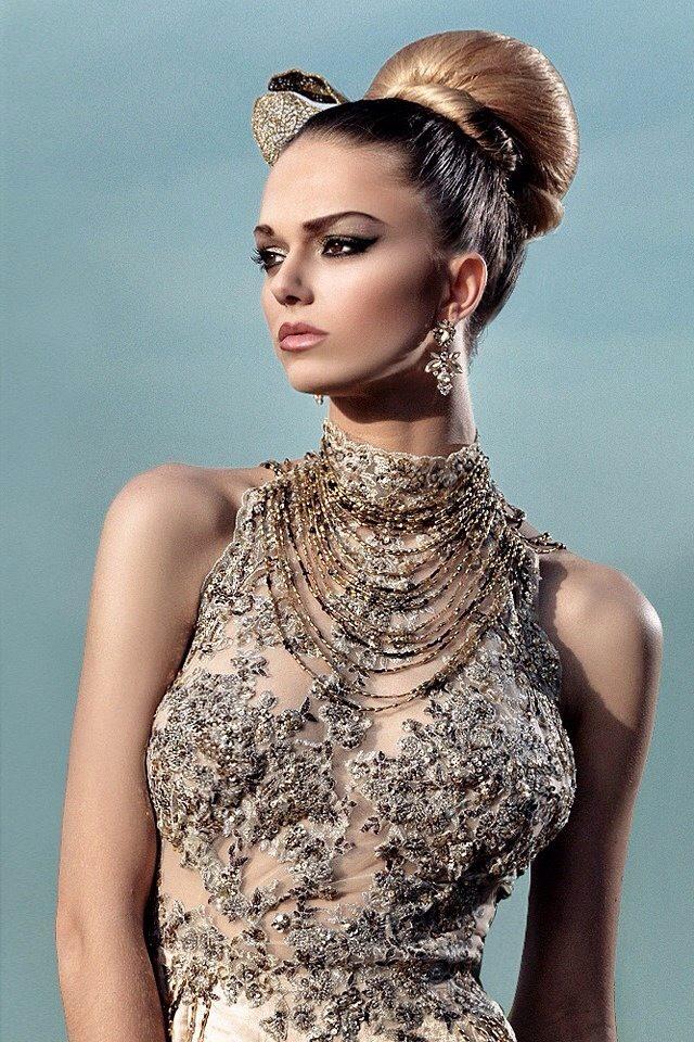 Robe Gold Chic
