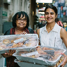 Shocked by amounts of discarded excess food, she invented an innovative food rescue system