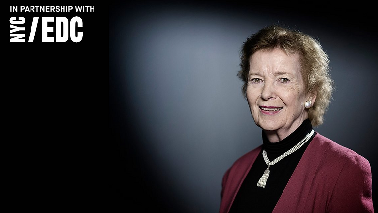 Mary Robinson on our opportunity for an environmental reset