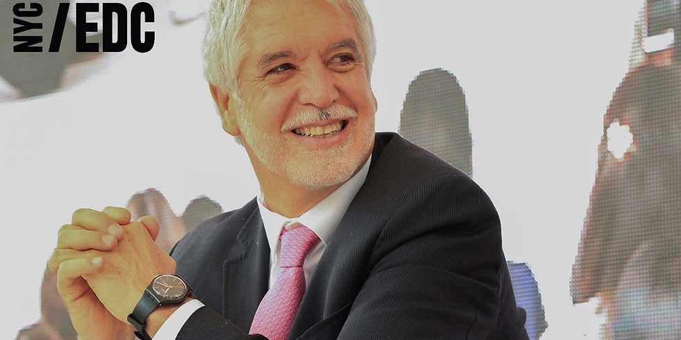 Mayor Enrique Peñalosa on designing better, more equitable cities