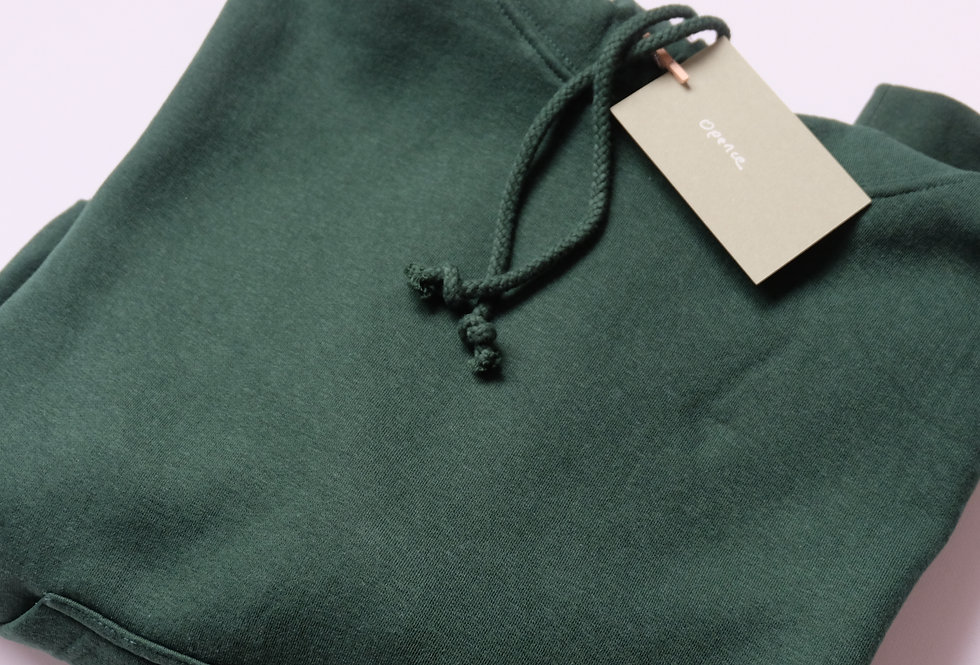 Hoodie green forest