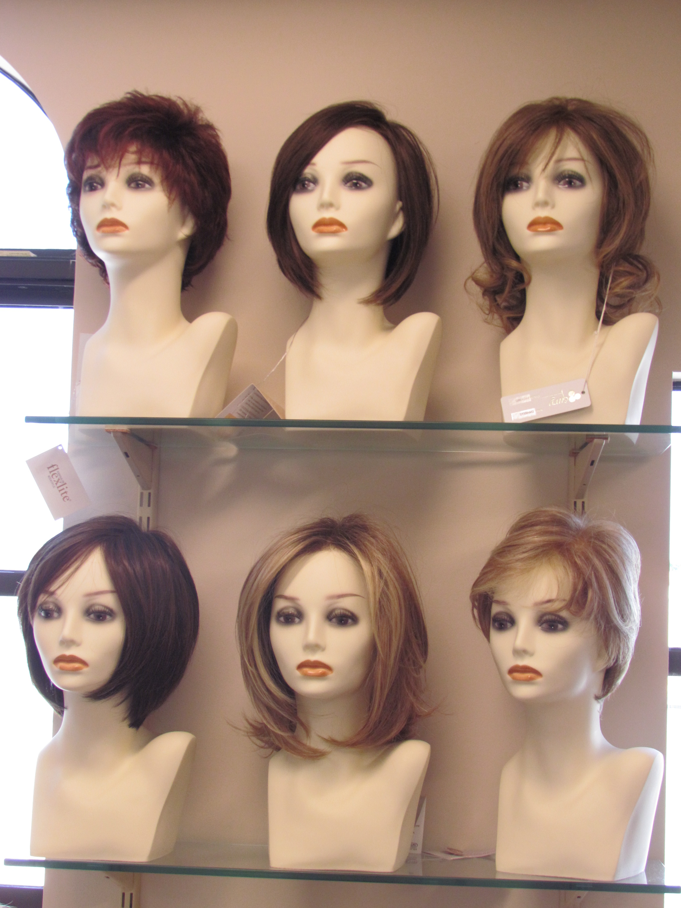 Selection of High Quality Wigs