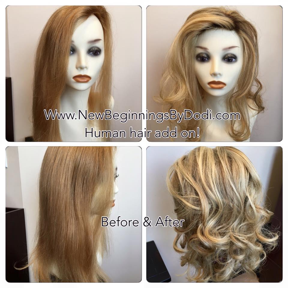 Human Hair topper