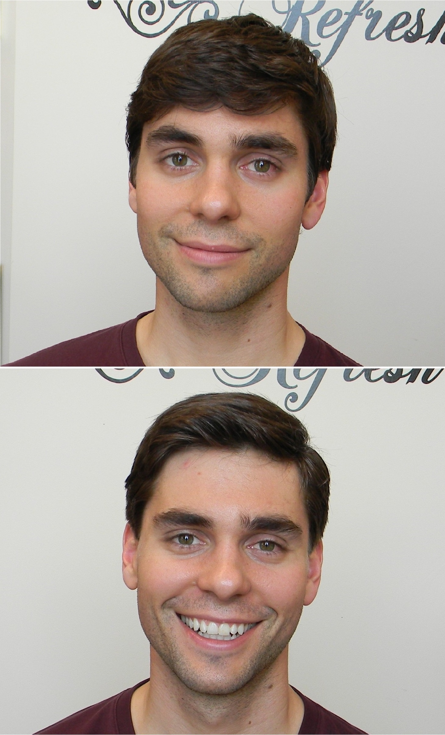 Men's Haircut and Style