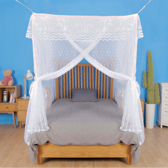 Mosquito net bed canopy for double beds
