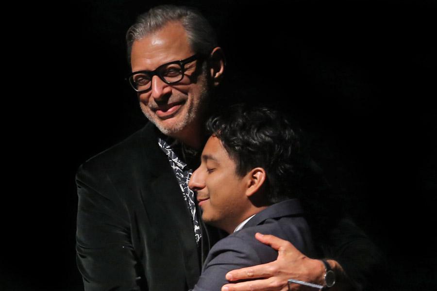 Jeff Goldblum, Tony Revolori LMGI Aw