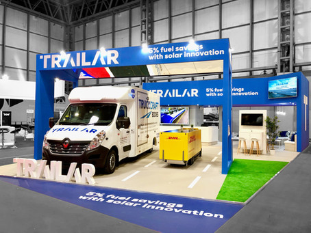 CV Show success for TRAILAR, with new van & trailer solutions
