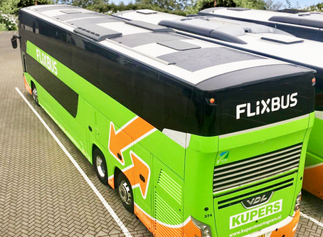 FLIXBUS saves 7% fuel with TRAILAR